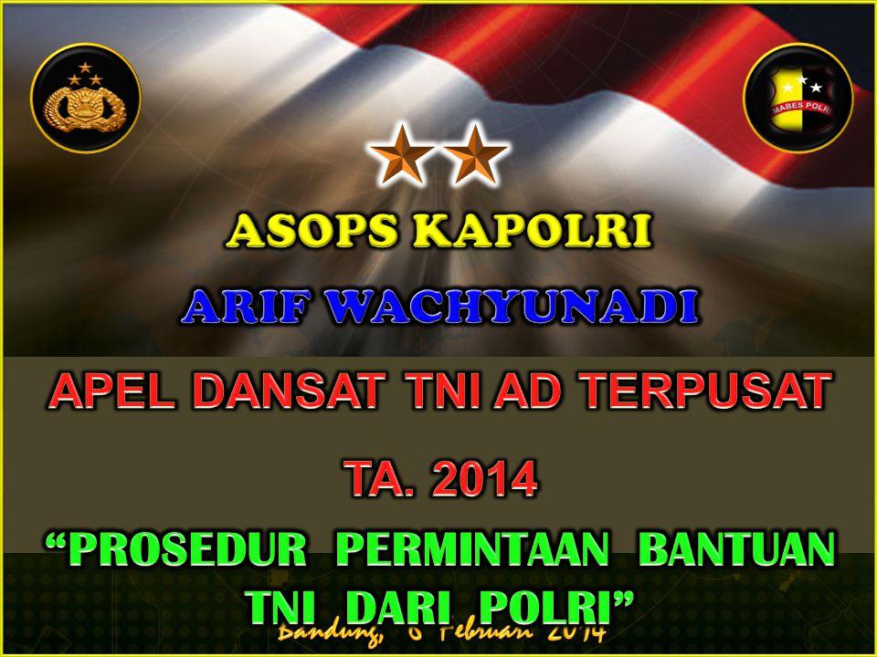 APEL DANSAT TNI AD TERPUSAT TA. 2014