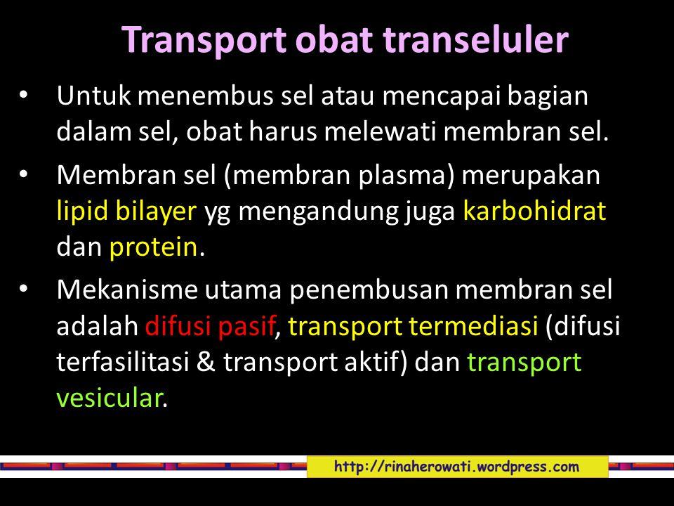 Transport obat transeluler