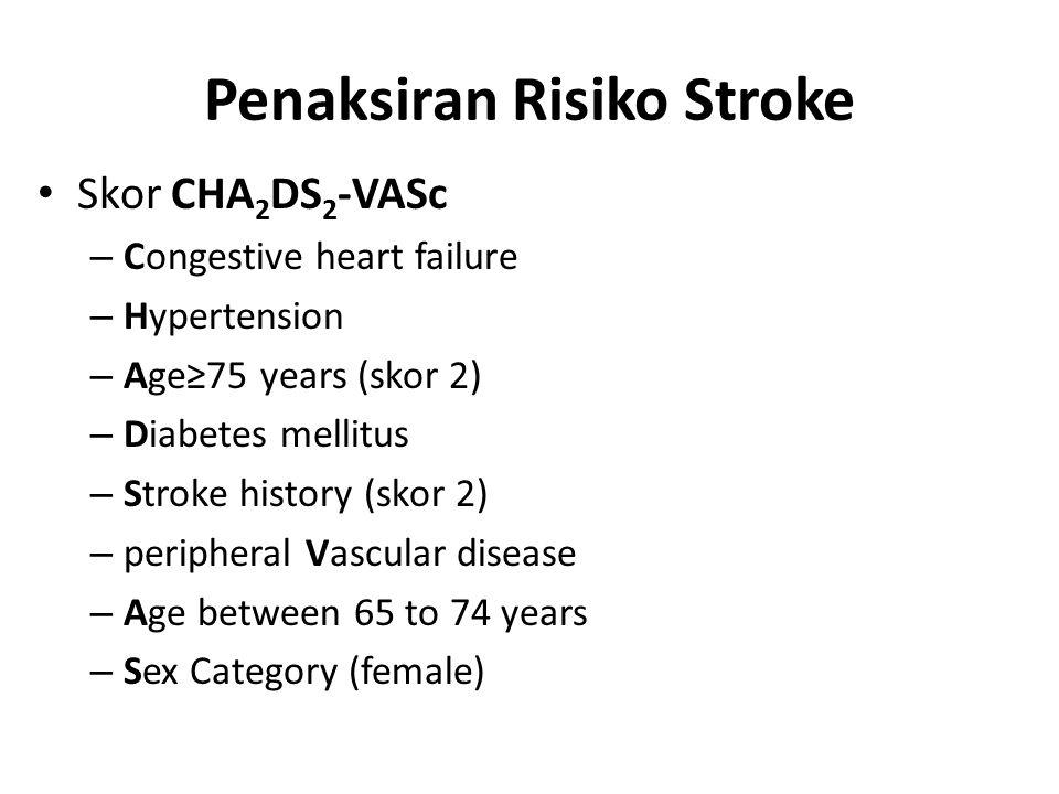 Penaksiran Risiko Stroke