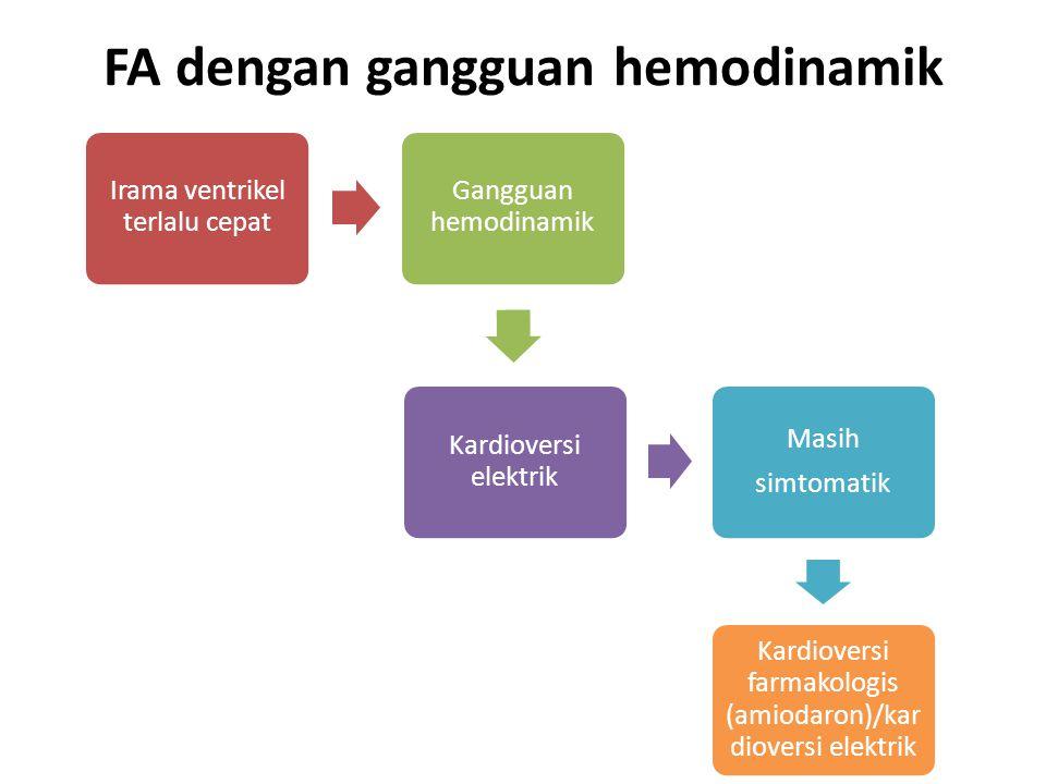 FA dengan gangguan hemodinamik