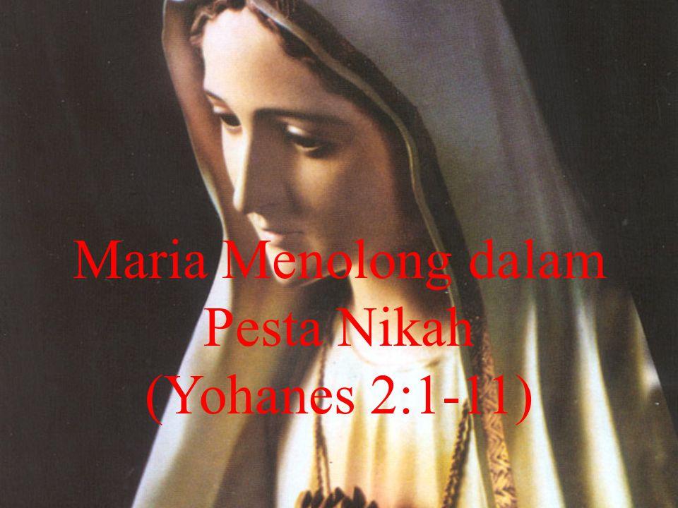 Maria Menolong dalam Pesta Nikah