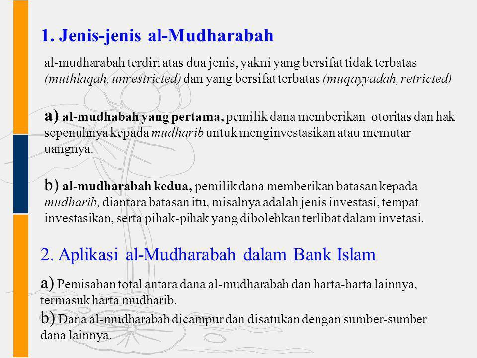 Jenis-jenis al-Mudharabah
