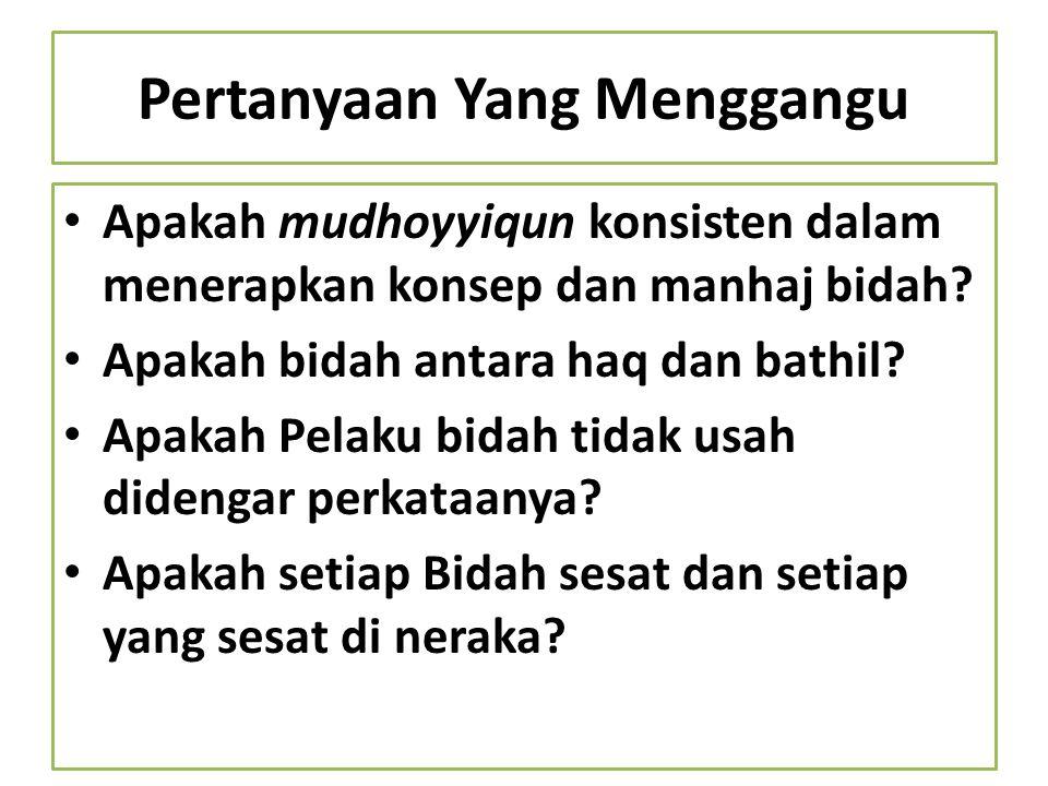 Pertanyaan Yang Menggangu