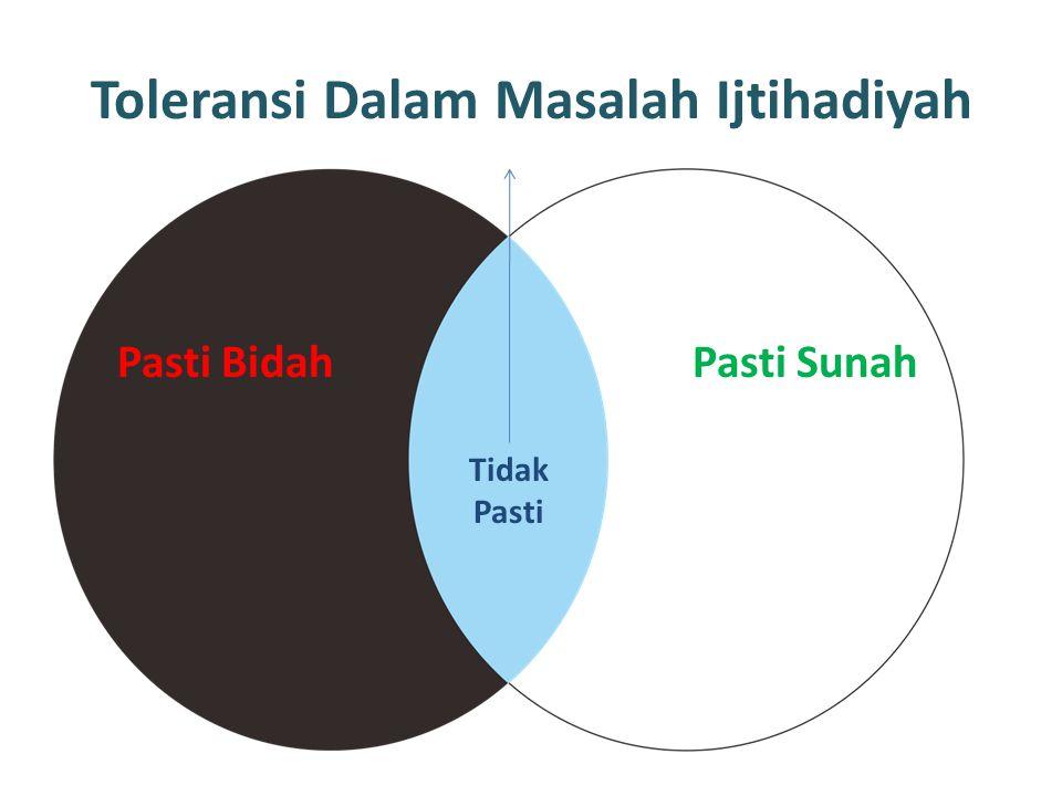 Toleransi Dalam Masalah Ijtihadiyah