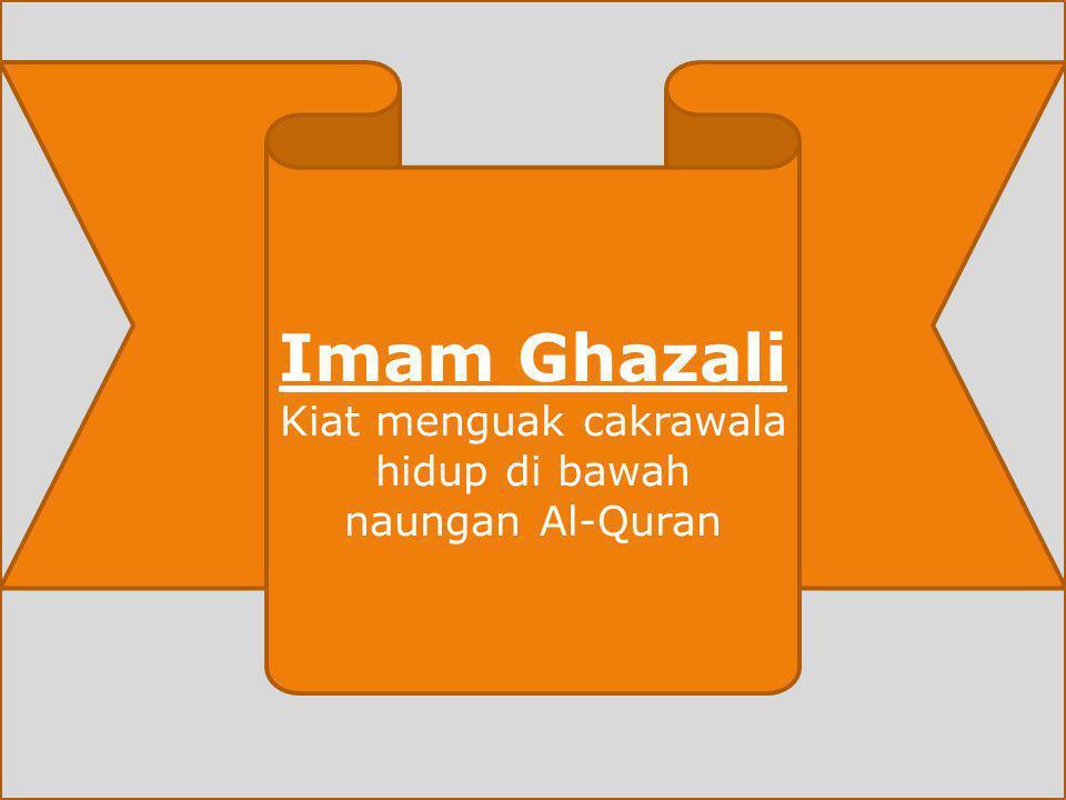 Kiat menguak cakrawala hidup di bawah naungan Al-Quran