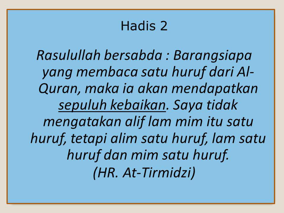 Hadis 2