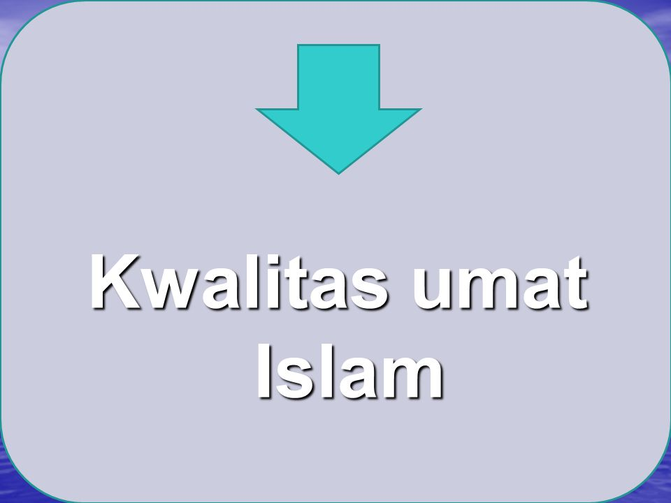 Kwalitas umat Islam