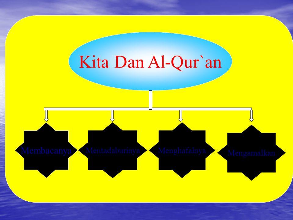 Kita Dan Al-Qur`an Membacanya Mentadaburinya Menghafalnya Mengamalkan