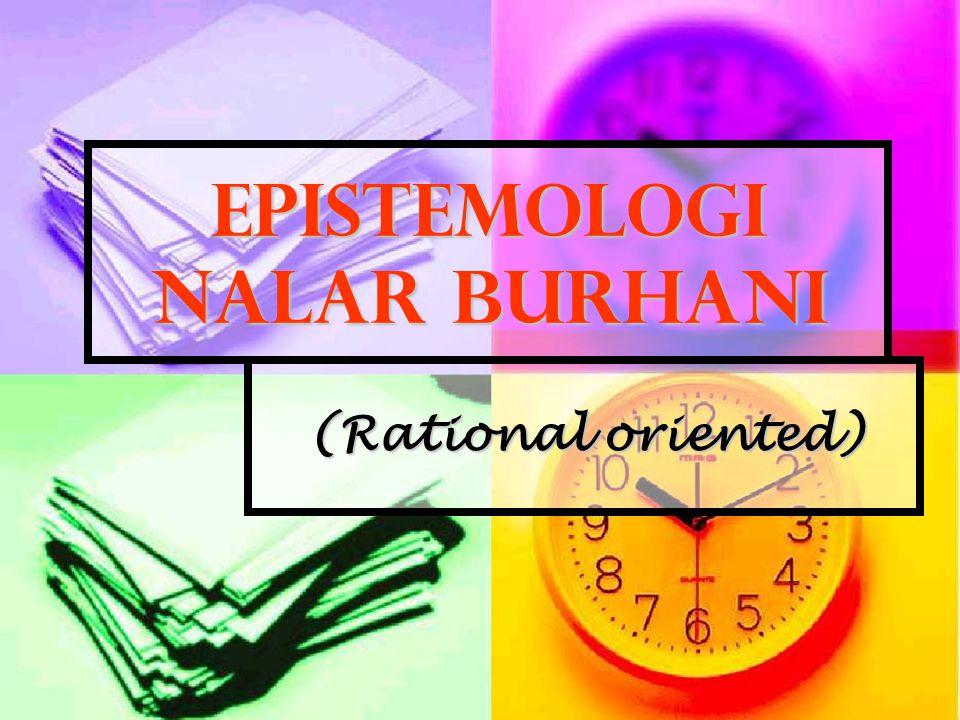 Epistemologi Nalar Burhani