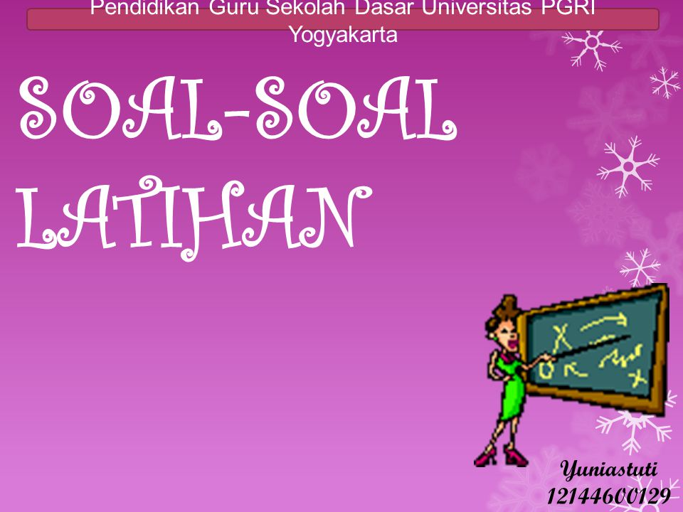 Pendidikan Guru Sekolah Dasar Universitas PGRI Yogyakarta