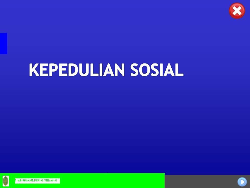 KEPEDULIAN SOSIAL