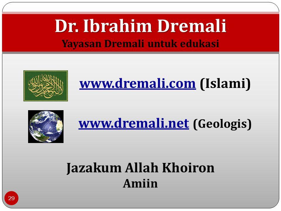 Dr. Ibrahim Dremali www.dremali.com (Islami)