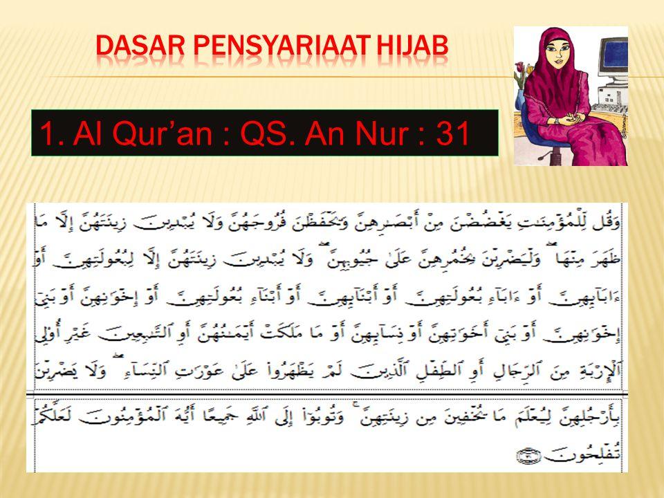 Dasar Pensyariaat Hijab