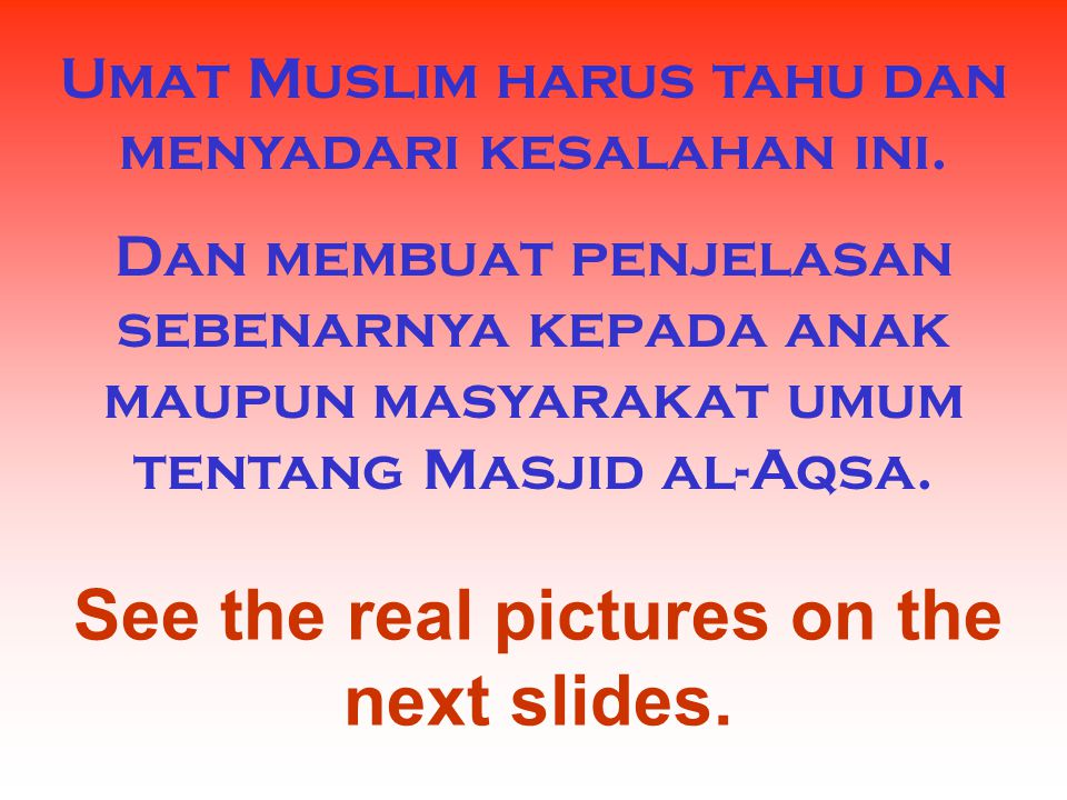 See the real pictures on the next slides.