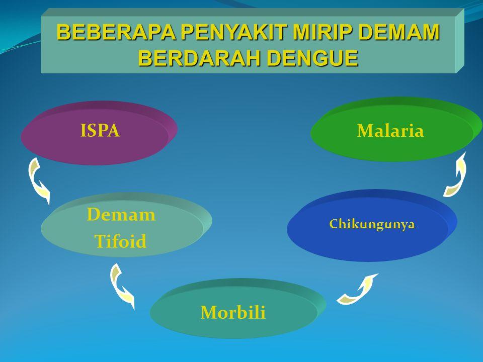 BEBERAPA PENYAKIT MIRIP DEMAM BERDARAH DENGUE