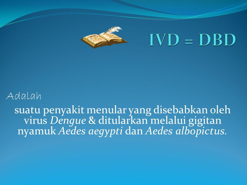 IVD = DBD Adalah.