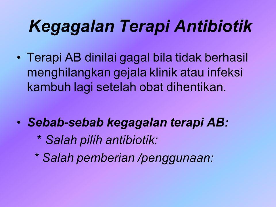 Kegagalan Terapi Antibiotik