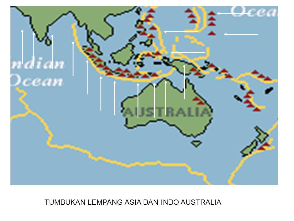 TUMBUKAN LEMPANG ASIA DAN INDO AUSTRALIA