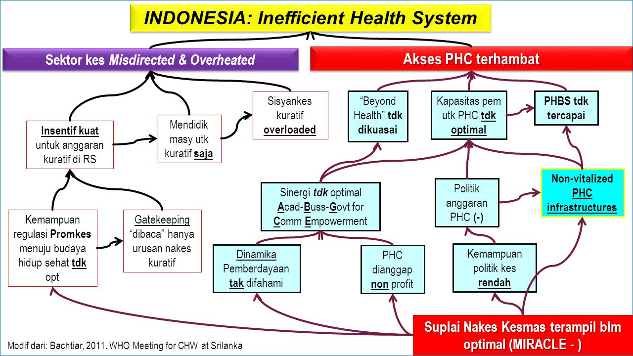 INDONESIA: Inefficient Health System