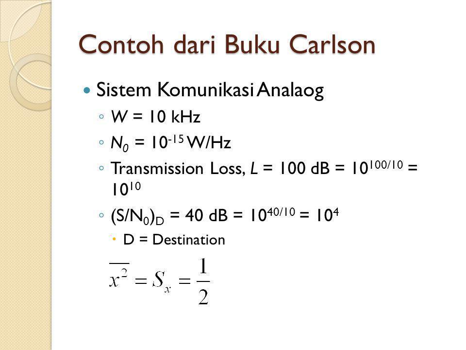 Contoh dari Buku Carlson