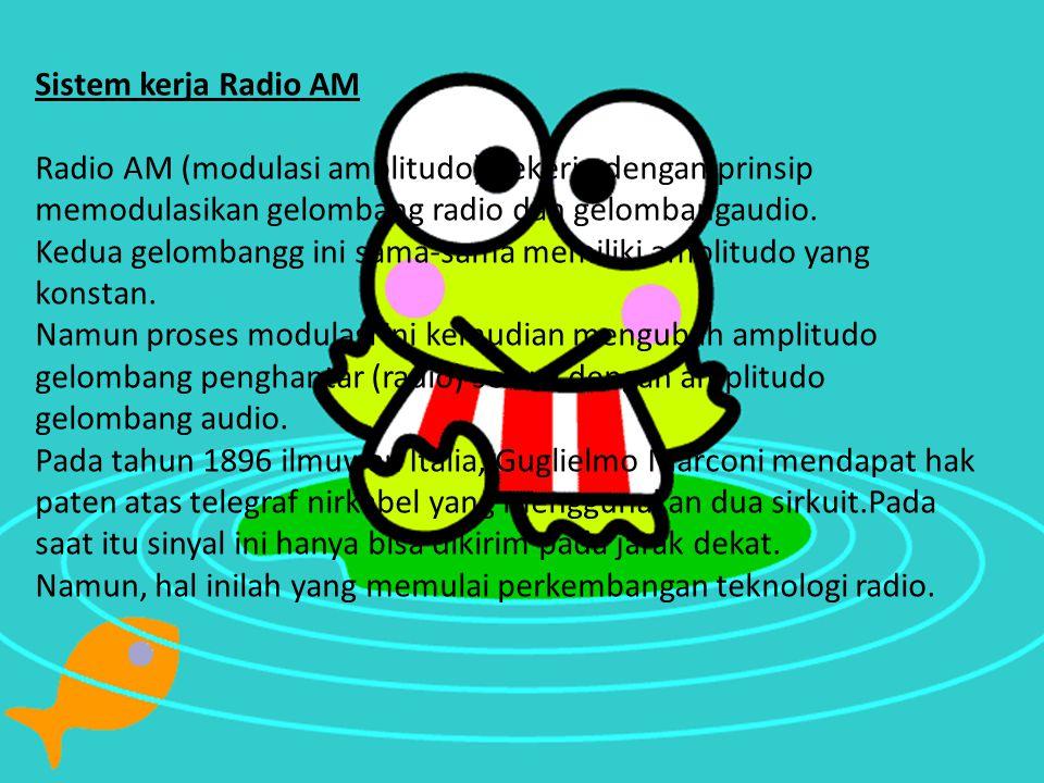 Sistem kerja Radio AM