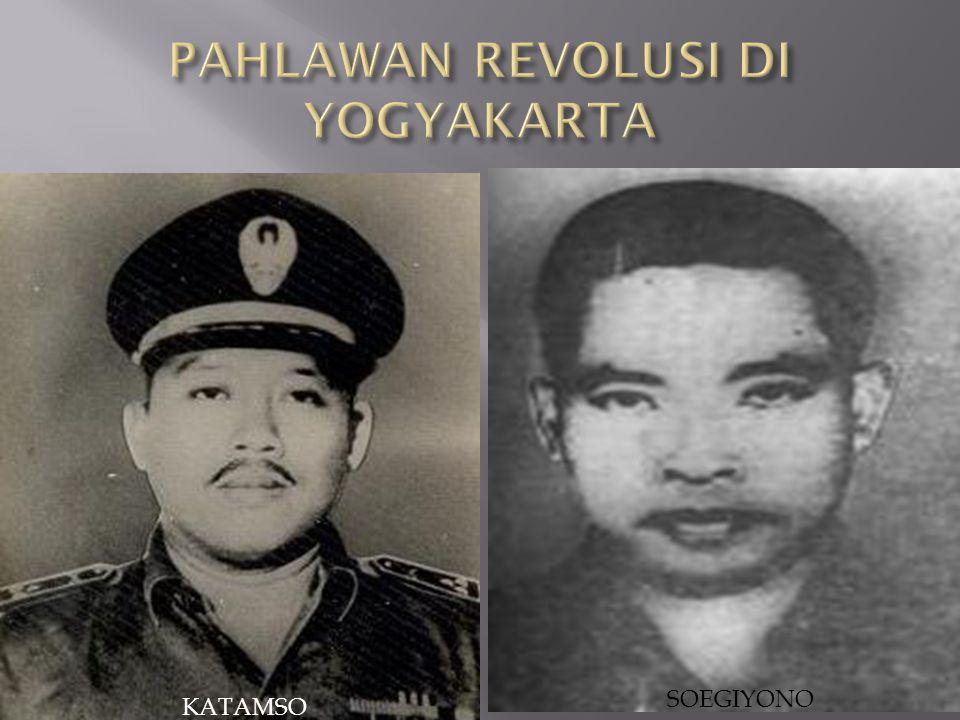 PAHLAWAN REVOLUSI DI YOGYAKARTA