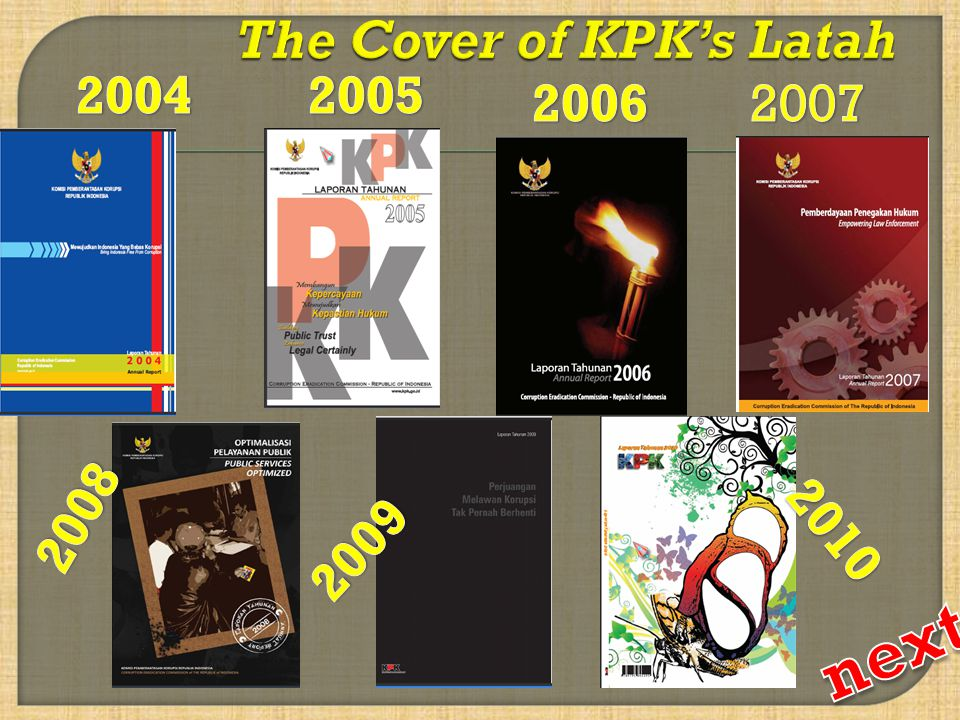 The Cover of KPK's Latah