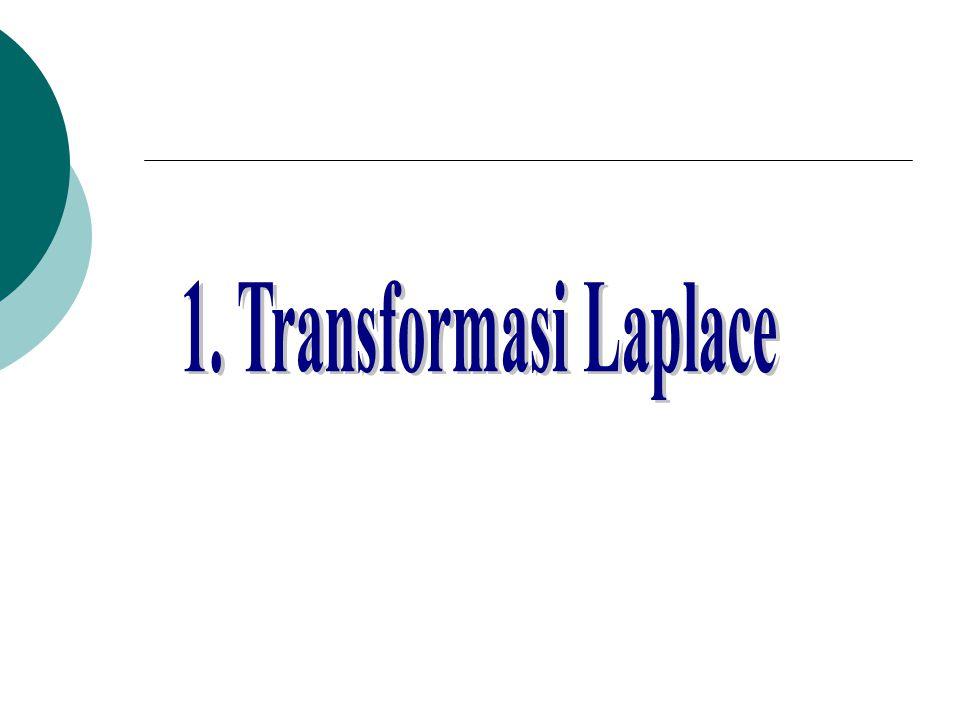 1. Transformasi Laplace