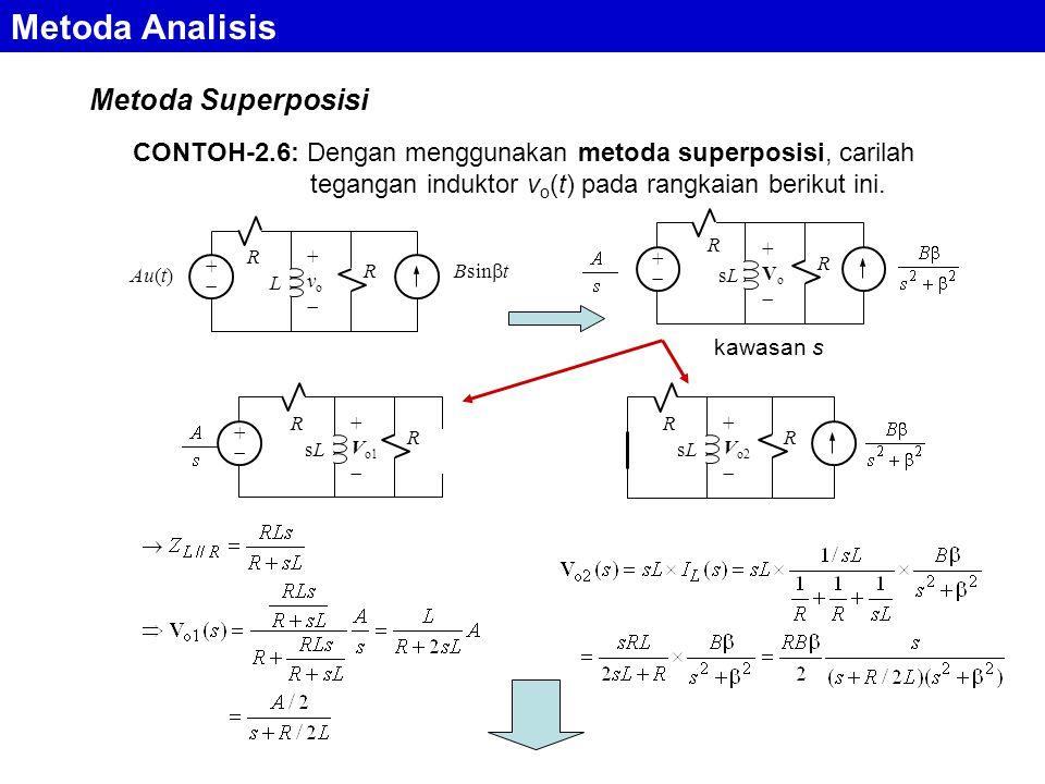 Metoda Analisis Metoda Superposisi
