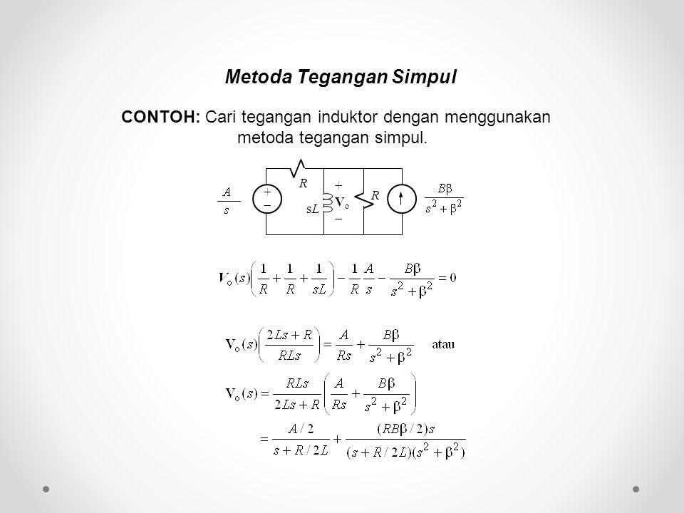 Metoda Tegangan Simpul