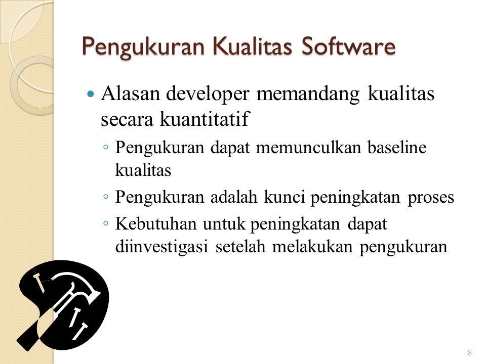 Pengukuran Kualitas Software