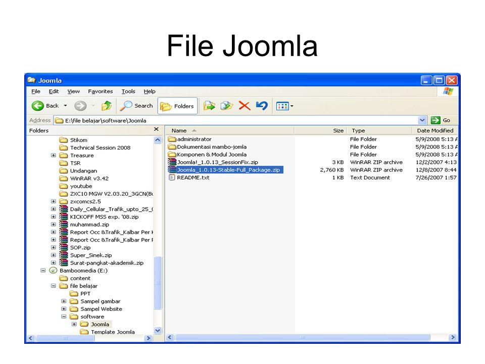 File Joomla