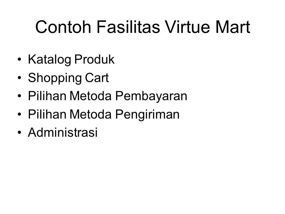 Contoh Fasilitas Virtue Mart