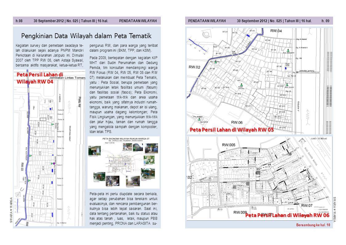 Pengkinian Data Wilayah dalam Peta Tematik