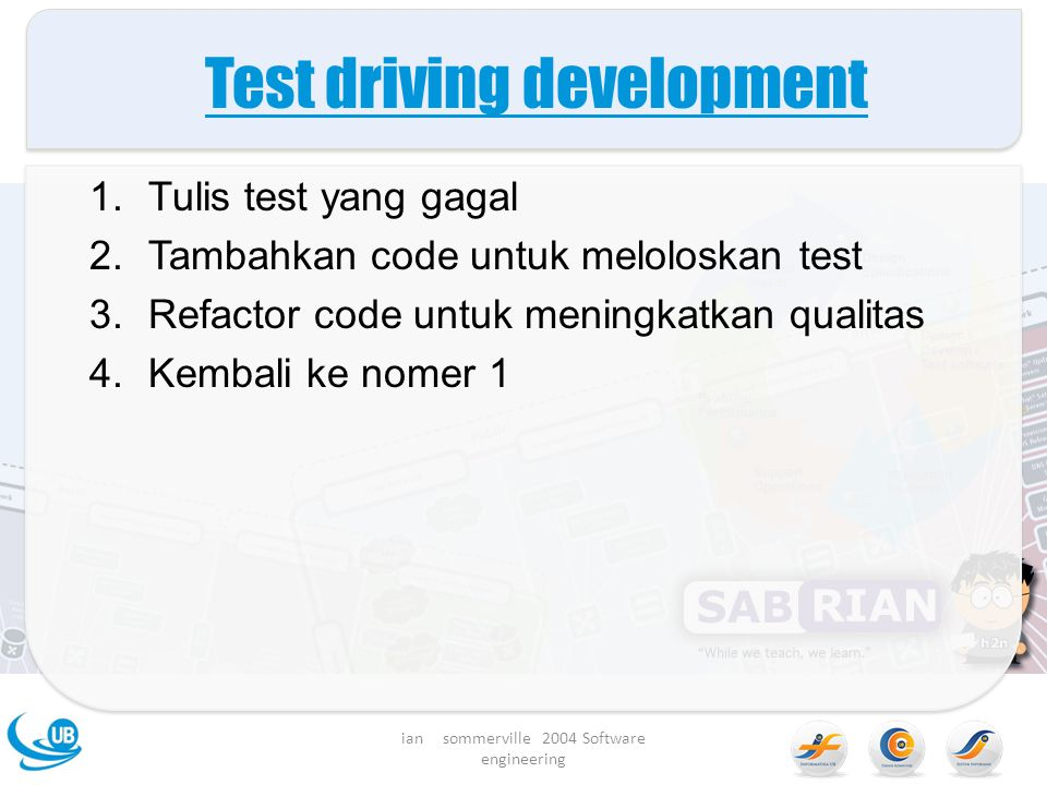 Test driving development