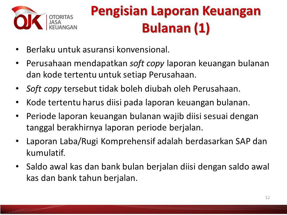 Pengisian Laporan Keuangan Bulanan (1)