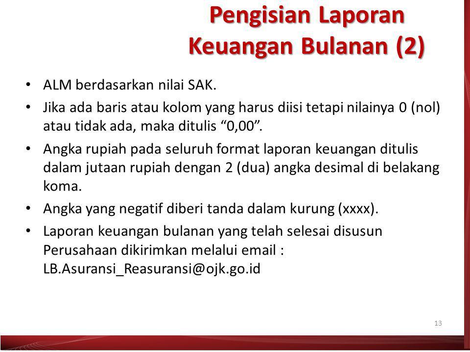 Pengisian Laporan Keuangan Bulanan (2)