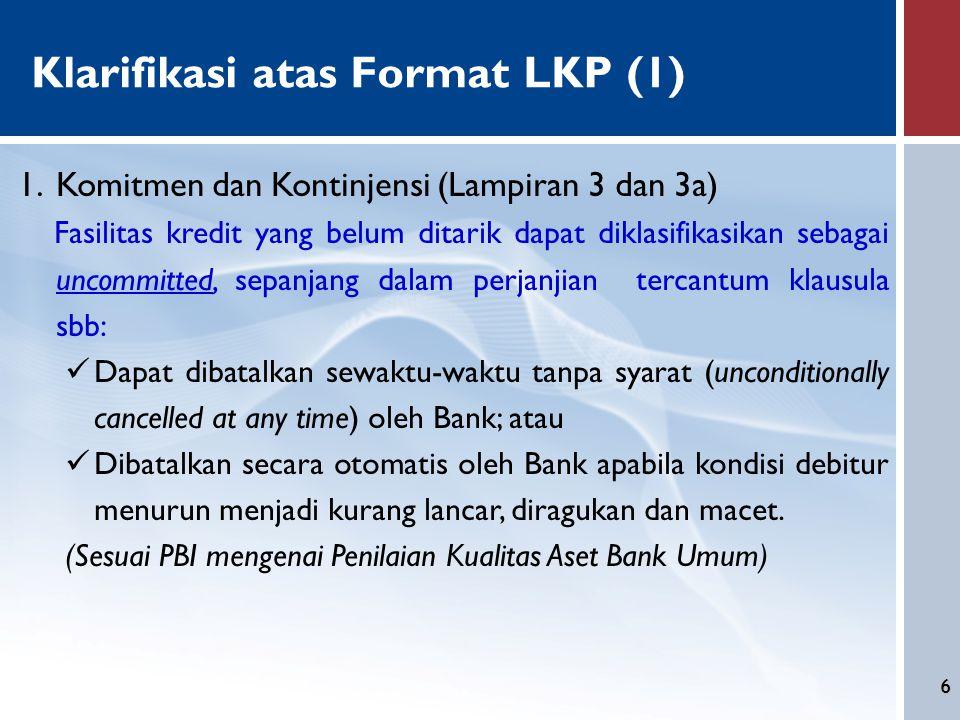 Klarifikasi atas Format LKP (1)