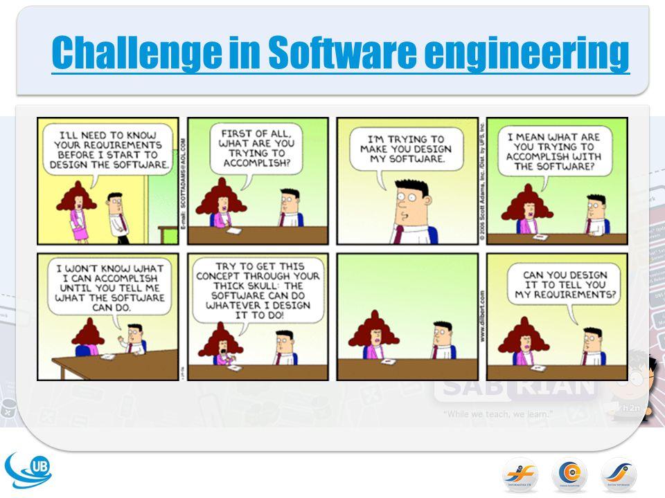 Challenge in Software engineering