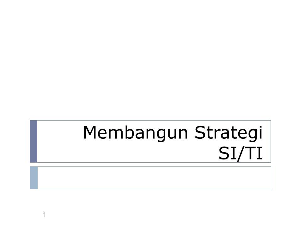 Membangun Strategi SI/TI