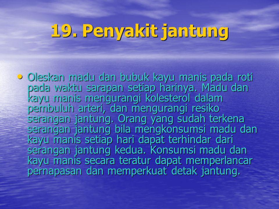 19. Penyakit jantung