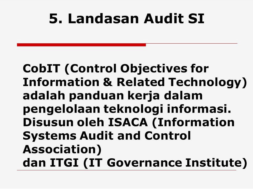 5. Landasan Audit SI