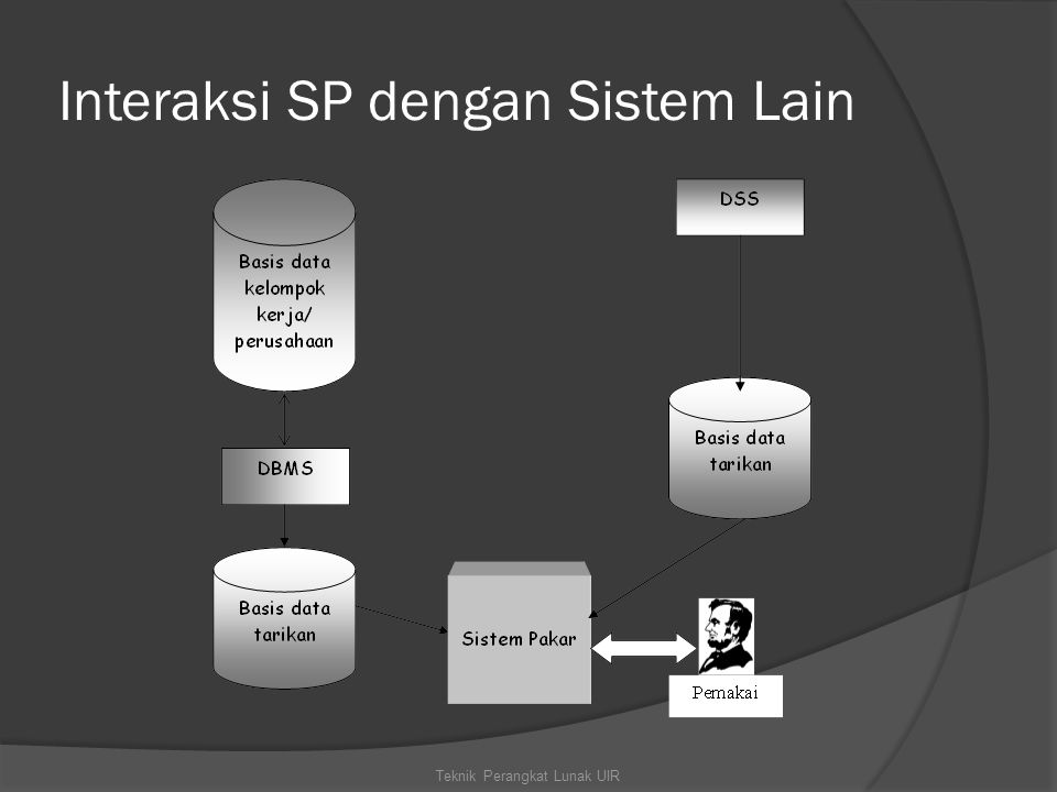Interaksi SP dengan Sistem Lain