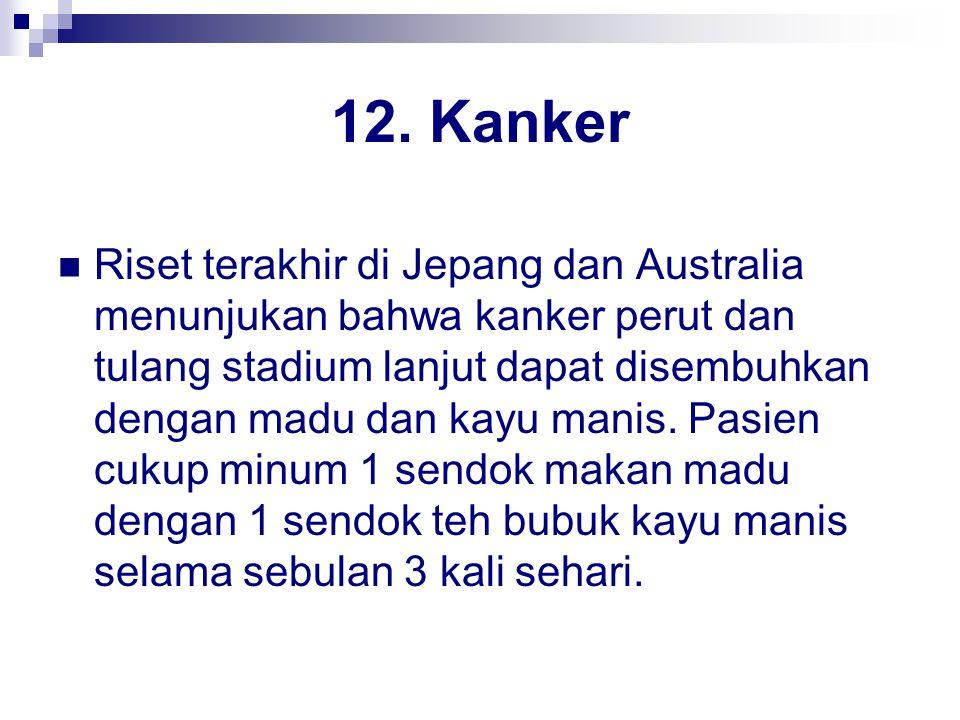 12. Kanker
