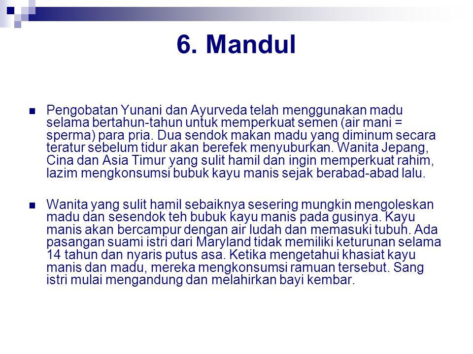 6. Mandul