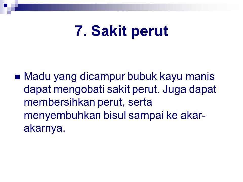 7. Sakit perut