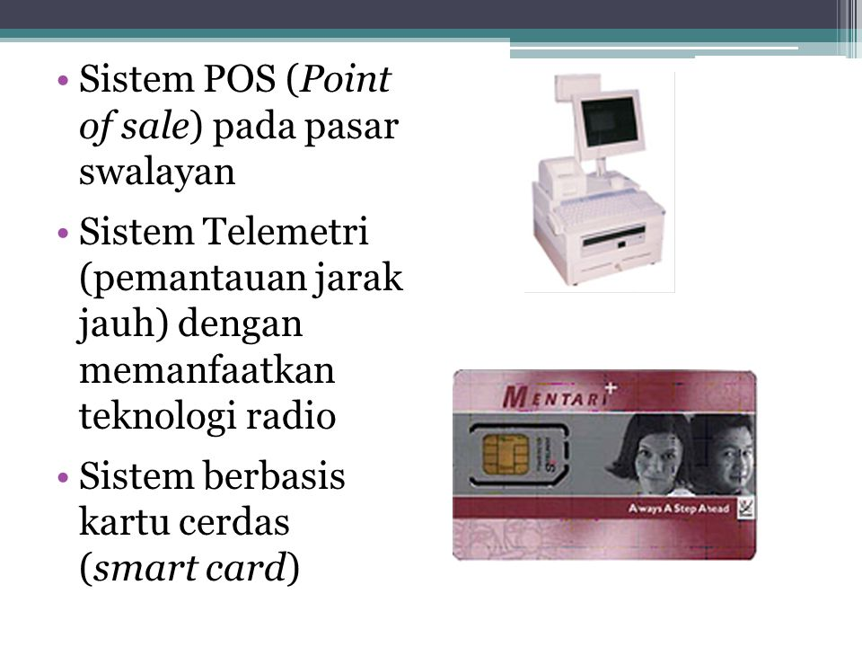 Sistem POS (Point of sale) pada pasar swalayan
