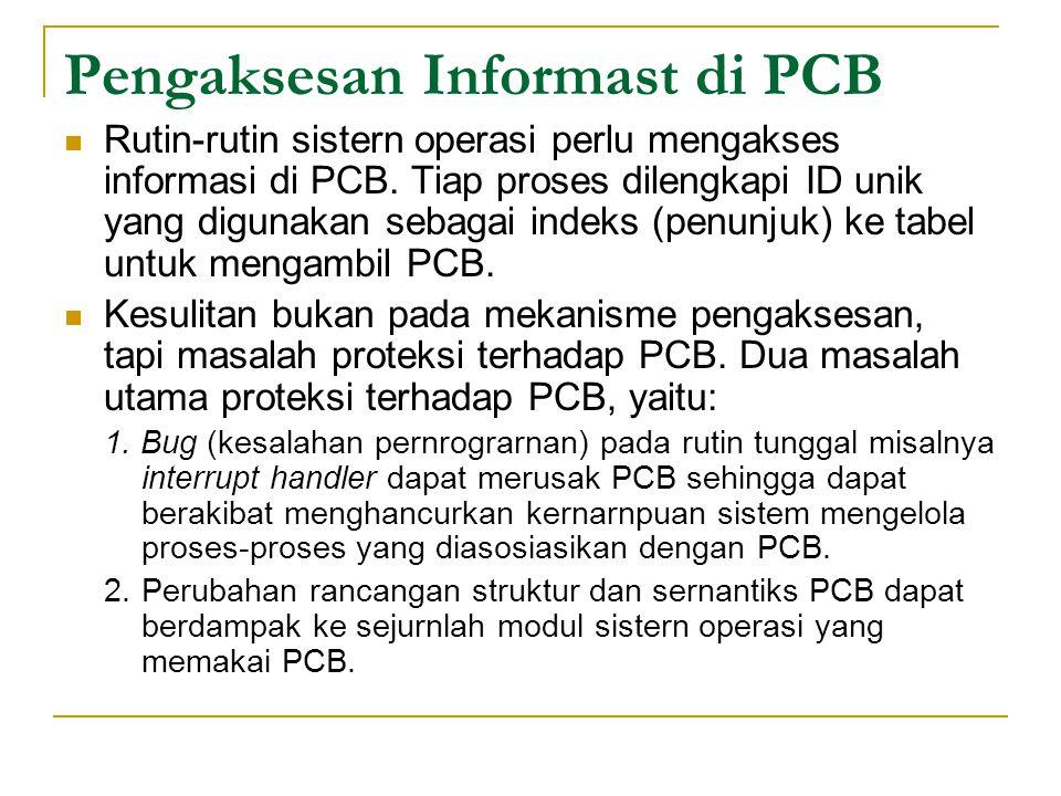 Pengaksesan Informast di PCB