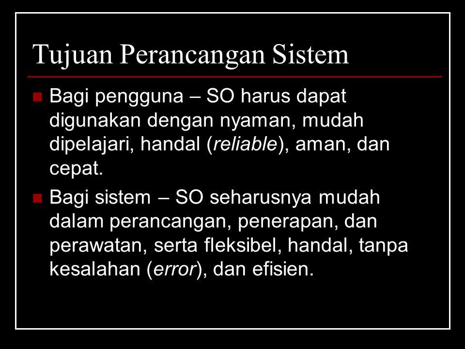 Tujuan Perancangan Sistem