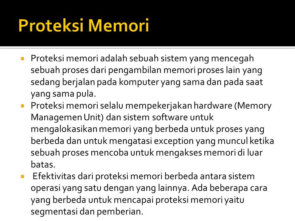 Proteksi Memori